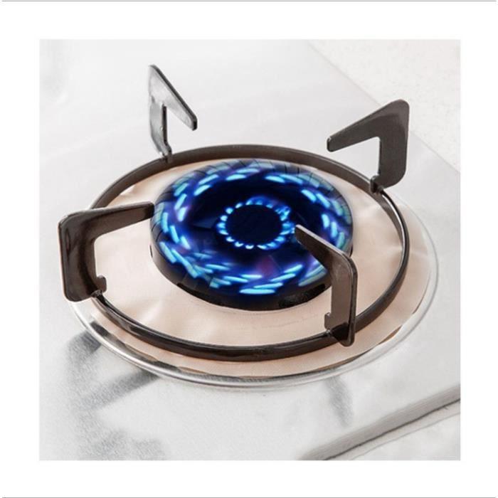 8pcs Plaque de cuisson à gaz universel Protection d'écran