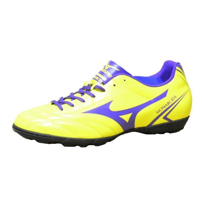 Mizuno Monarcida As Chaussures de football Indoor Cuir Jaune P1GD162467