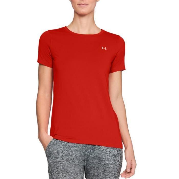 Under Armour Femmes Heatgear Gym T-Shirt D'Entrainement