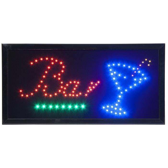 Enseigne lumineuse à LED -BAR-