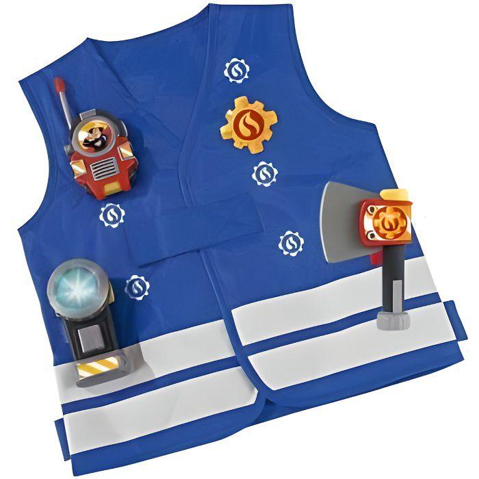 SAM le pompier - Kit de pompier d?guisement accessoires 3 ans+
