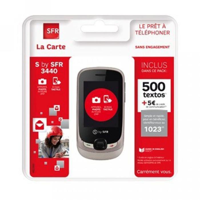 Pack SFR La Carte LS by SFR 3440 - Achat téléphone portable pas cher, avis et meilleur prix ...