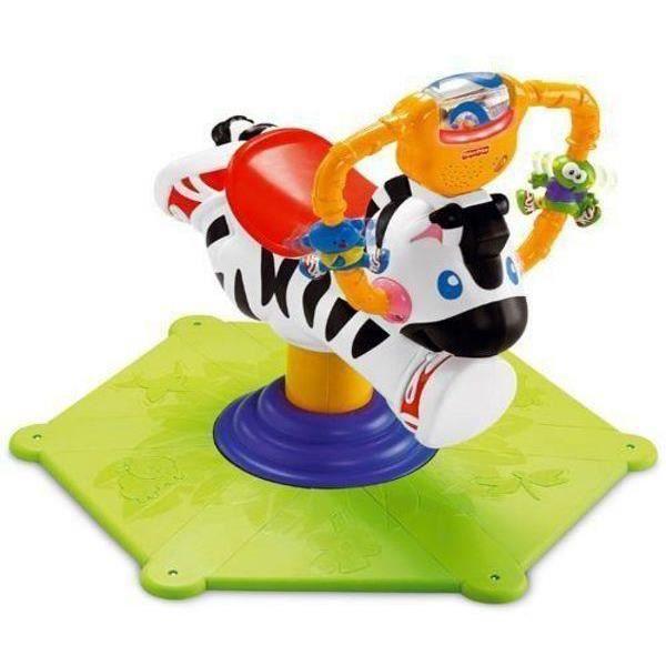 JOUET À BASCULE Zèbre Tourni-rebond Premiers jouets