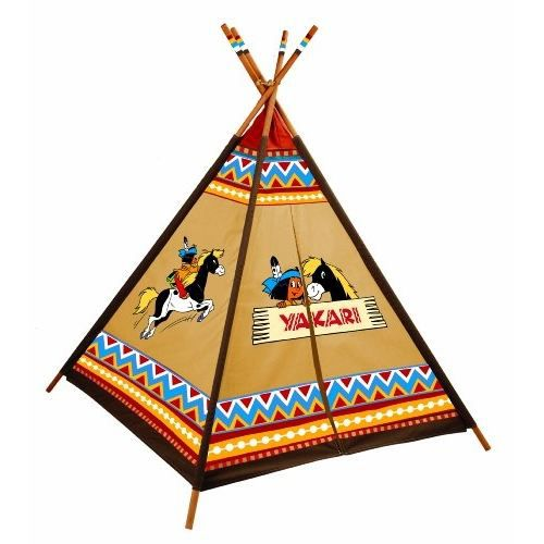 knorrtoys 86559 tipi indien motifs yakari achat vente tente tunnel d 39 activit cdiscount. Black Bedroom Furniture Sets. Home Design Ideas