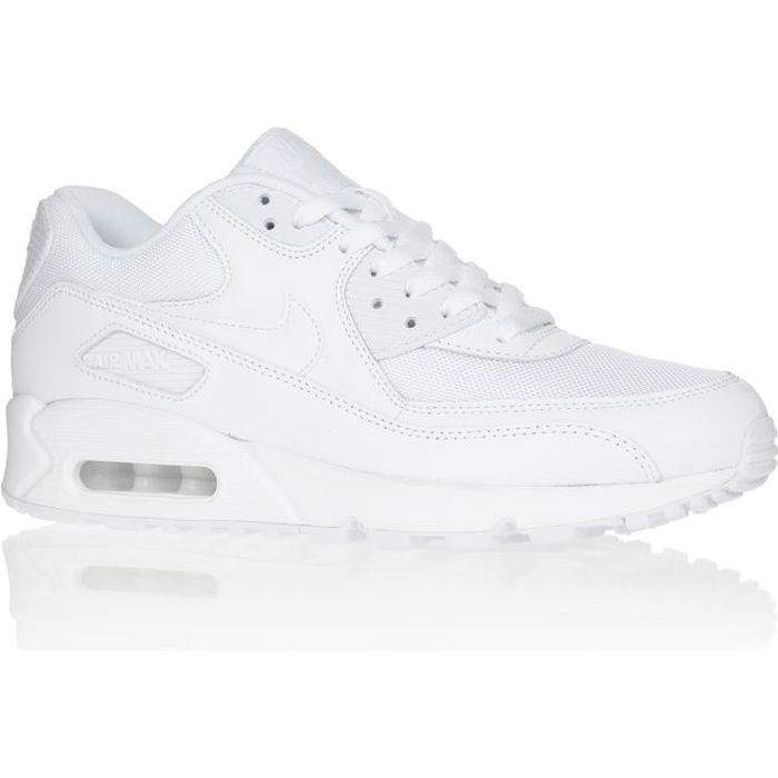 newest 0b36d 32c5c BASKET NIKE AIR MAX 90 ESSENTIAL BLANC