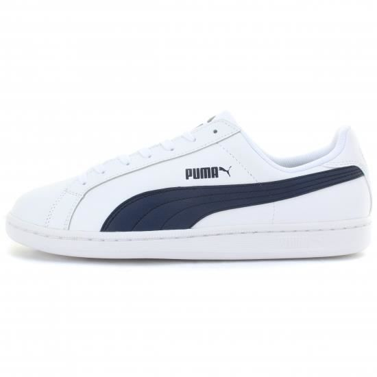 Chaussures Puma Smash blanches Casual femme 8FyHf