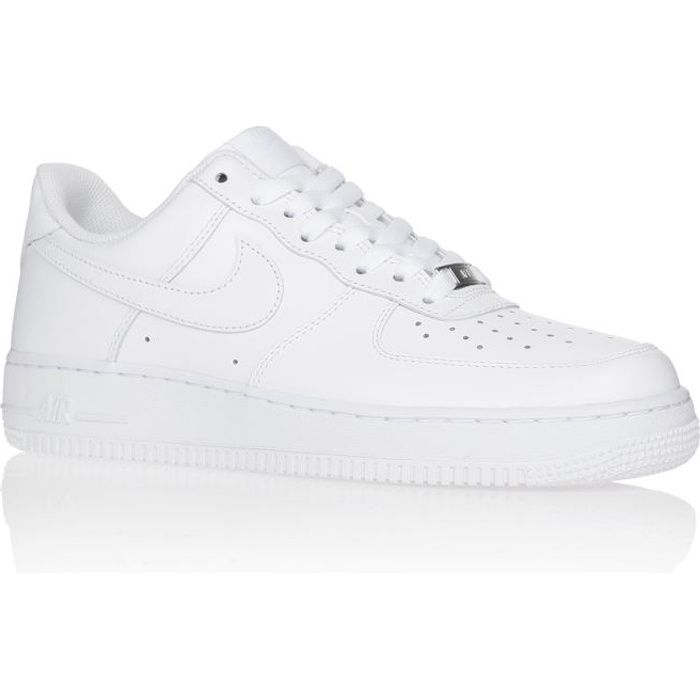 NIKE Baskets Air Force Homme Blanc