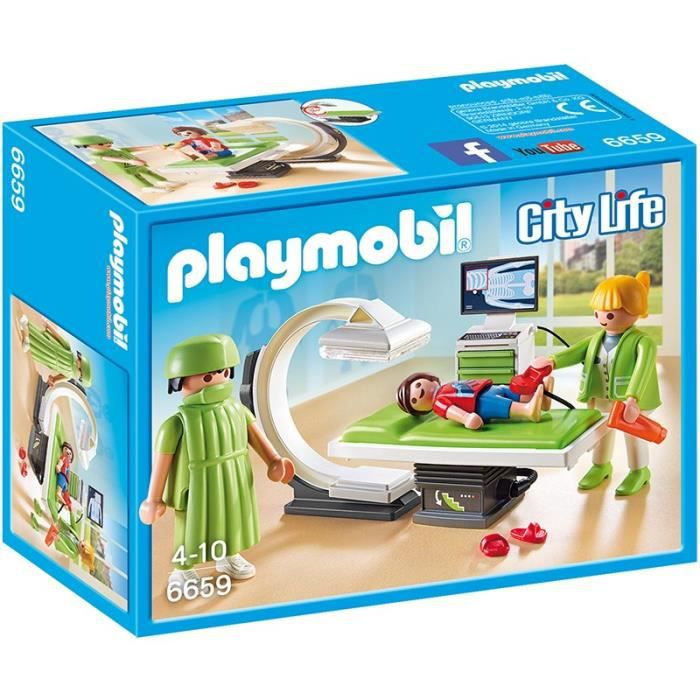 playmobil 6659 salle de radiologie achat vente univers. Black Bedroom Furniture Sets. Home Design Ideas