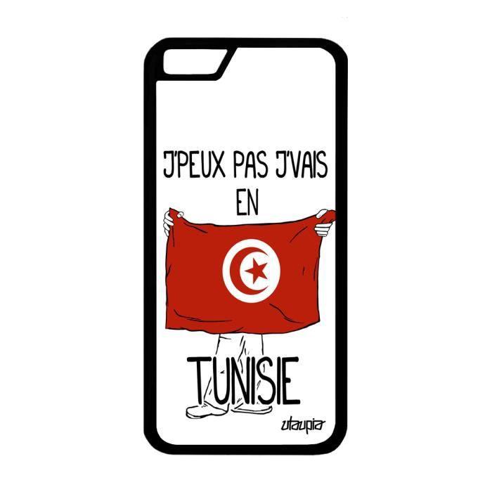 Coque silicone j'peux pas j'vais en tunisie iPhone 6 6S tunisien ...