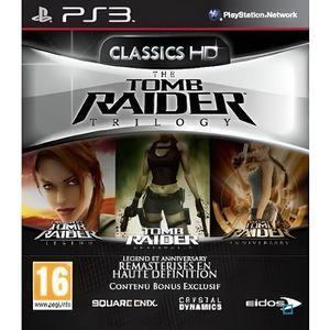 JEU PS3 TOMB RAIDER TRILOGY HD / Jeu console PS3