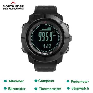 MONTRE OUTDOOR - MONTRE MARINE North Edge X-Trek GPS Montre Digital Multifonction