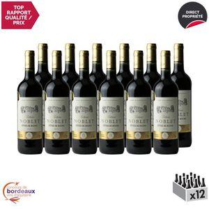 VIN ROUGE Château Noblet Rouge 2014 - Lot de 12x75cl - Appel