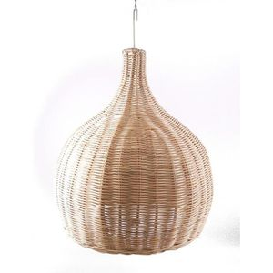 LUSTRE ET SUSPENSION Suspension / Abat-jour en rotin naturel d38cm fabr