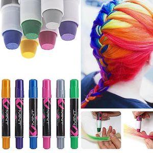 6 Couleur Craie Coloration Cheveux Teinture Diy Hair Chalk