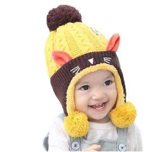 BONNET - CAGOULE MiVogue Bonnet Pour Bébé Hiver Cache Oreille Petit