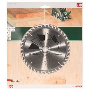 ACCESSOIRE MACHINE Bosch 2609256813 Standard Lame de scie circulaire