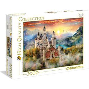 PUZZLE PUZZLE 2000 pièces - Château de Neuschwanstein