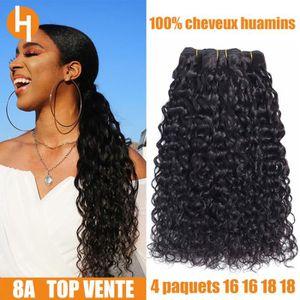 PERRUQUE - POSTICHE HAIRICH lot 4 tissage bresilien bouclé cheveux nat