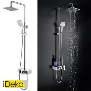 COLONNE DE DOUCHE iDeko® Robinet colonne de douche avec 2 pommeaux d