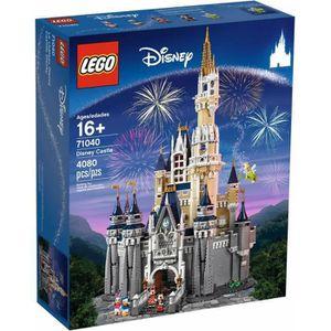 ASSEMBLAGE CONSTRUCTION LEGO DISNEY 71040 Le château Disney