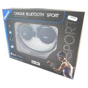 CASQUE - ÉCOUTEURS Ecouteurs sport bluetooth 'Coloriage' noir (be mix