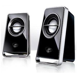 ENCEINTES ORDINATEUR Haut-parleurs 2.0 V510 noir