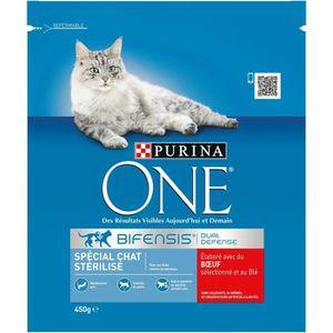 CROQUETTES Croquettes chat stérilisé 450 g PURINA ONE