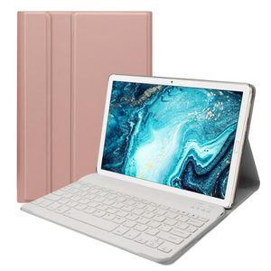 HOUSSE TABLETTE TACTILE Etui en Cuir Bluetooth pour Huawei Mediapad M6 10,