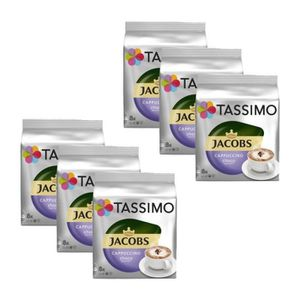 CAFÉ 6 Tassimo Jacobs Cappuccino Choco
