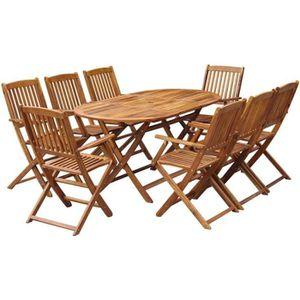 Table jardin acacia