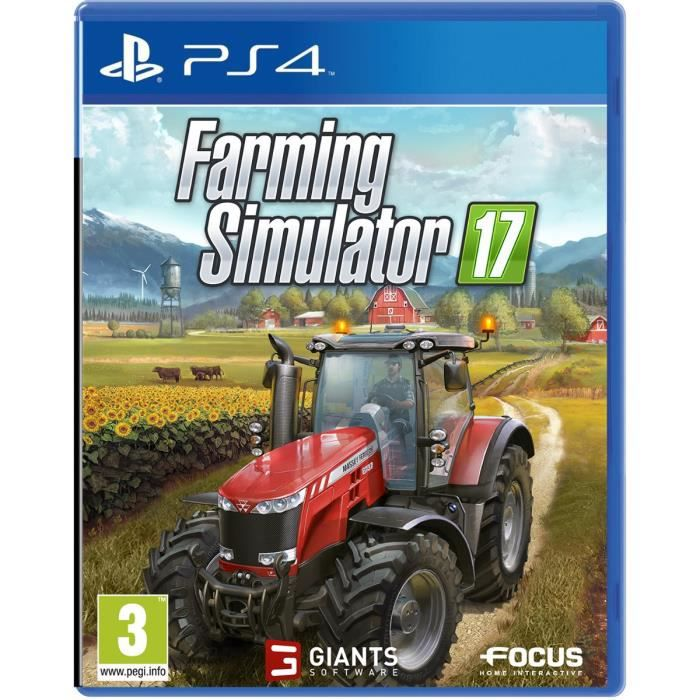 farming simulator 2017 jeu ps4 achat vente jeu ps4 farming simulator 2017 jeu ps4 cdiscount. Black Bedroom Furniture Sets. Home Design Ideas
