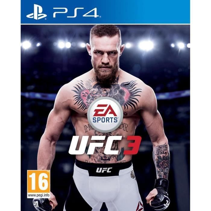 EA Sports UFC 3 Jeu PS4