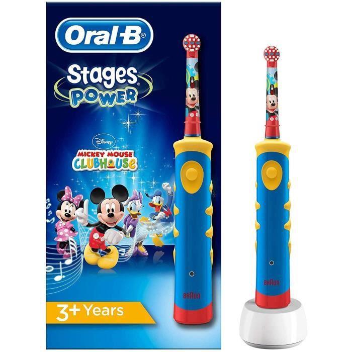 Brosses à dents électriques Oral-B Stages Brosse à Dents Électrique Pour Enfants Avec Personnage Mickey 88143