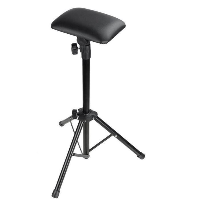 Trépied Réglable Chaise Tatouage pour Bras Support de Bras Portable Repos Trépied Salon