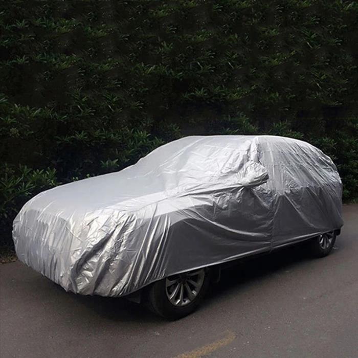 Couverture de protection d'extérieur pour Hatchback, berline et SUV, bâche de voiture imperméable et anti-poussière- L