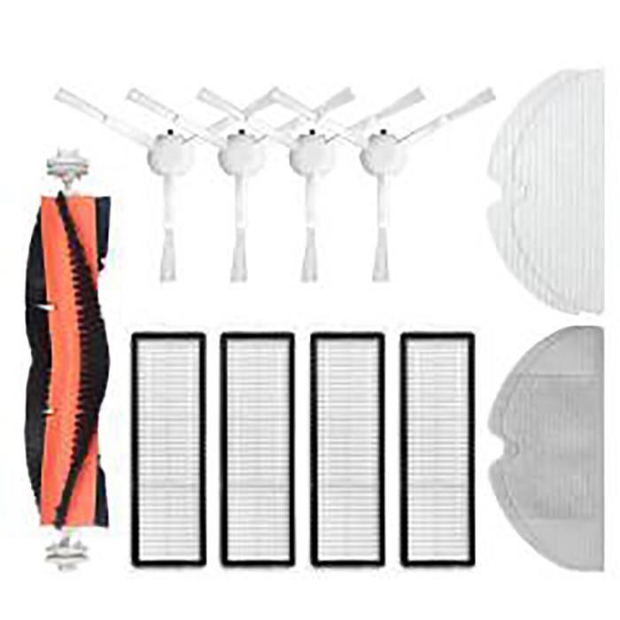 Kit de nettoyage de remplacement pour aspirateur Robot Xiaomi Dreame F9, brosses à rouleau, brosse latérale en tissu, fi*DI1575