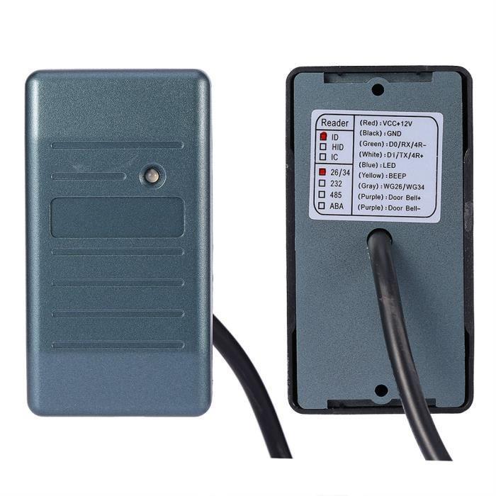 Lecteur-Graveur de contrôle d'accès de carte RFID 125Khz -CYA