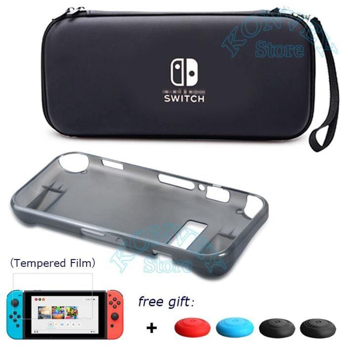 Périphériques Gamers,Nitendo Nintend Switch housse de protection Nintendoswitch sac de transport de stockage EVA coque - Type S