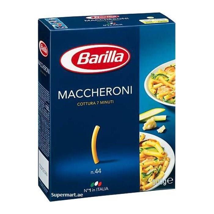 Barilla Pâtes maccheroni 500g