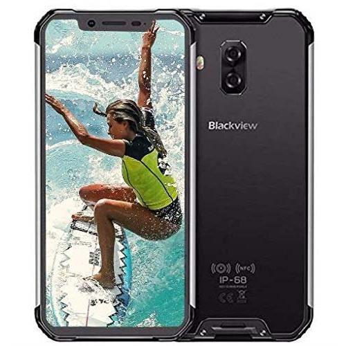 2019 Blackview BV9600 Pro Smartphone Résistant Helio P70 4Go + 64Go Android 9.0 IP68 Télephone Portable Incassable