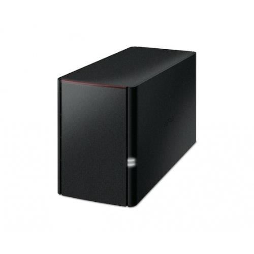 BUFFALO Système de stockage NAS LinkStation 220 - 2 x Total de compartiments - 2 x 3 To HDD - Marvell ARMADA 800 MHz - 256 Mo RAM