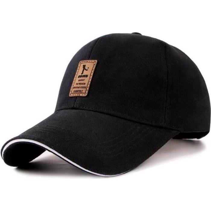 Casquette homme ajustée Baseball Polo Hip-Hop Homme Femme Casquette Chapeau Cap chapeau de soleil Gris