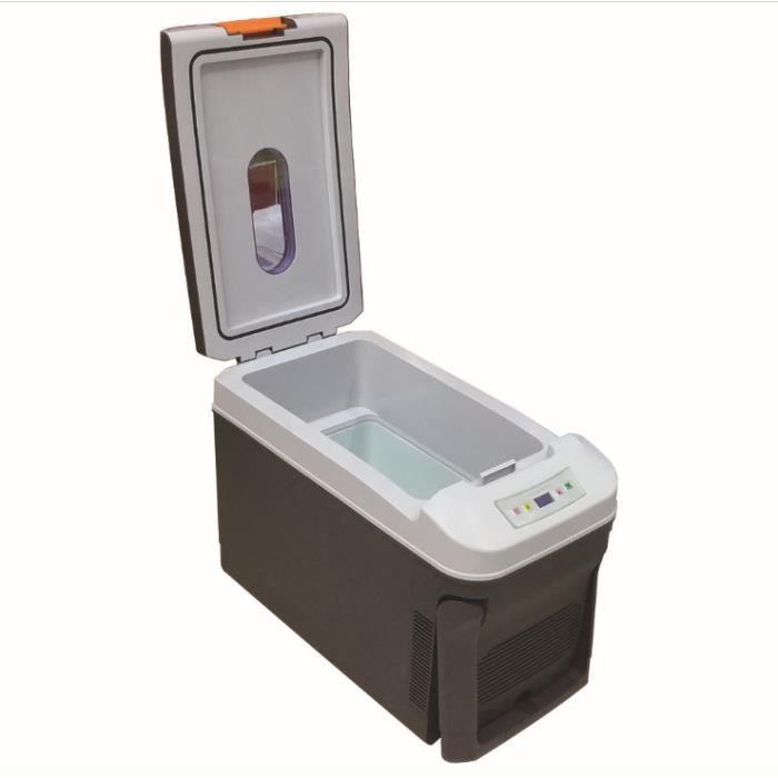 35L Mini Voiture Réfrigérateur Maison Voyage Véhicule Réfrigérateur Double-usage Boîte Refroidisseur Réchauffeur Température Contrôl