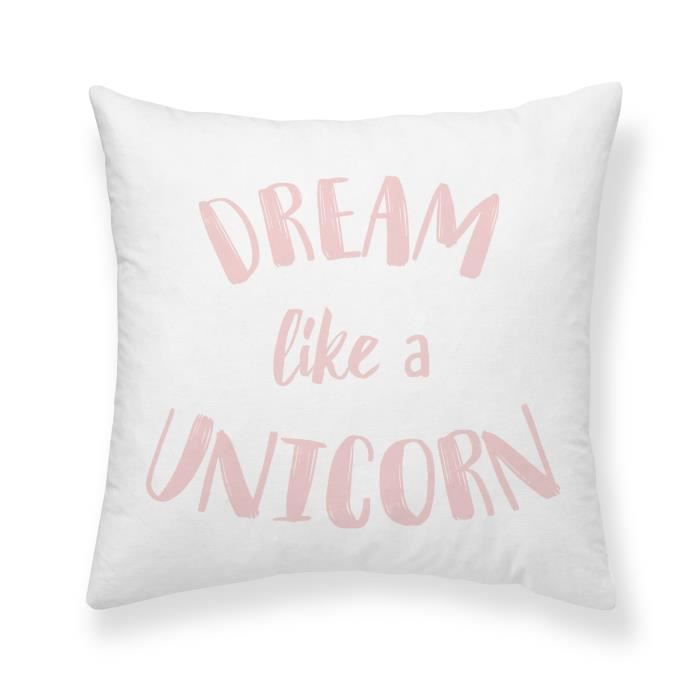 TODAY Coussin 100% coton Dream - 40x40 cm
