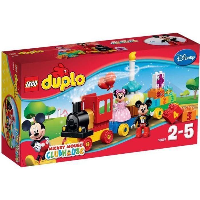 LEGO® DUPLO Disney 10597 La Parade d'Anniversaire de Mickey et Minnie - Jeu de construction