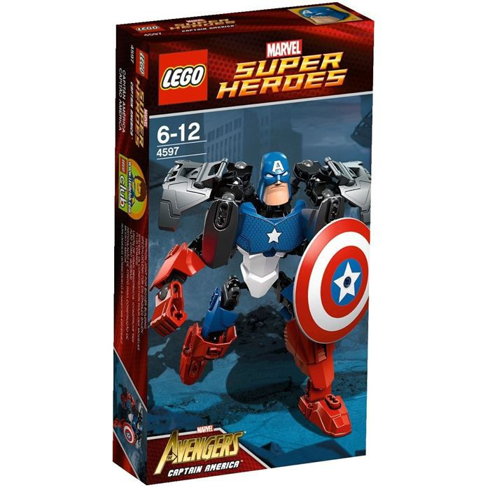 LEGO 4597 Marvel Super Heroes - Captain America