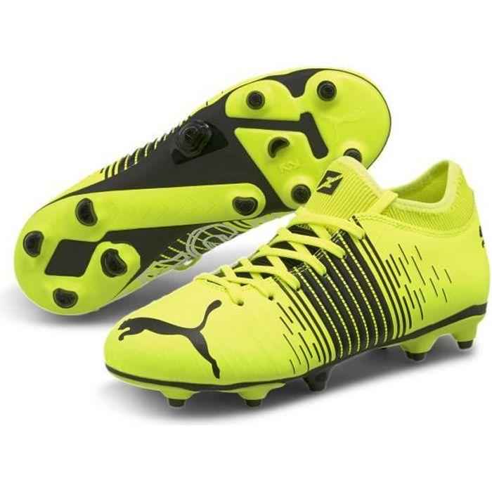 Chaussures de football enfant Puma Future Z 4.1 FG/AG - jaune/noir/blanc - 31