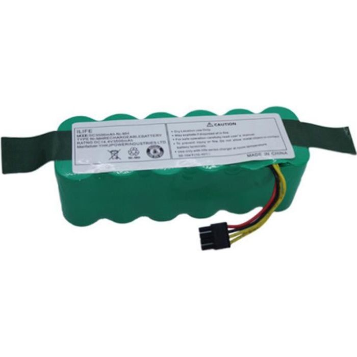 Batterie De Robot 14.4V 3500Mah pour Haier Swr-T322 T321 T320 T325 Robotic Pack Aspirateur Batterie Pièces Accessoires
