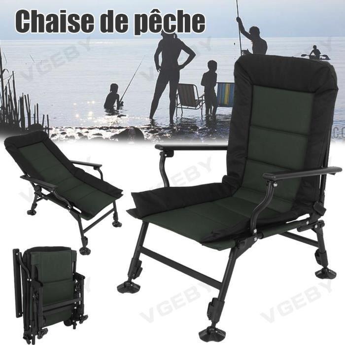 Fauteuil de camping 1pcs Chaise Pliante de pêche YES26