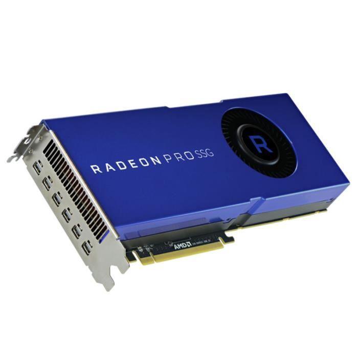 CARTE GRAPHIQUE INTERNE Carte graphique AMD Radeon Pro SSG, 16384 MB HBM2,